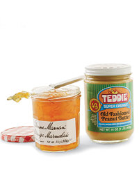 Food & Wine: Marmalade and peanut butter.