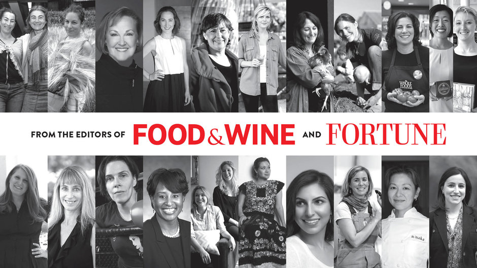Image result for the most innovative women in food and drink food and wine magazine