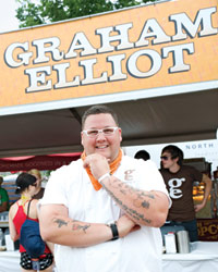 Food & Wine: Lollapalooza Culinary Director Graham Elliot