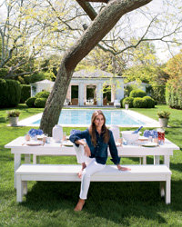 Food & Wine: Aerin Lauder's Mix & Match Style