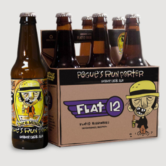 Food & Wine: Pogue's Run Porter from Flat 12 Bierwerks