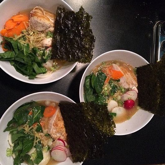 Food & Wine: Oyster Bliss, Mind-Blowing Yellowtail & Homemade Ramen