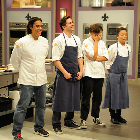 Food & Wine: The final four cheftestants.
