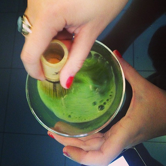 Food & Wine: The Secret to Green Tea? It's All in the Wrist