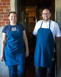 Food & Wine: Gabrielle Quiñónez Denton & Greg Denton