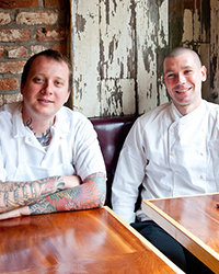 Food & Wine: Walker Stern and Joe Ogrodnek