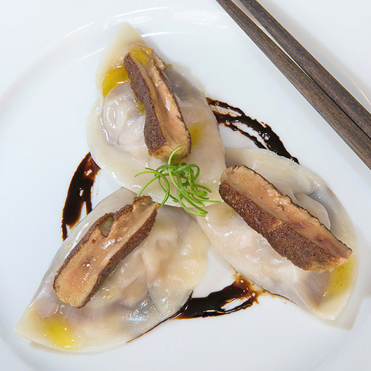Food & Wine: Anita Lo's Super-Luxe Foie Gras Soup Dumplings