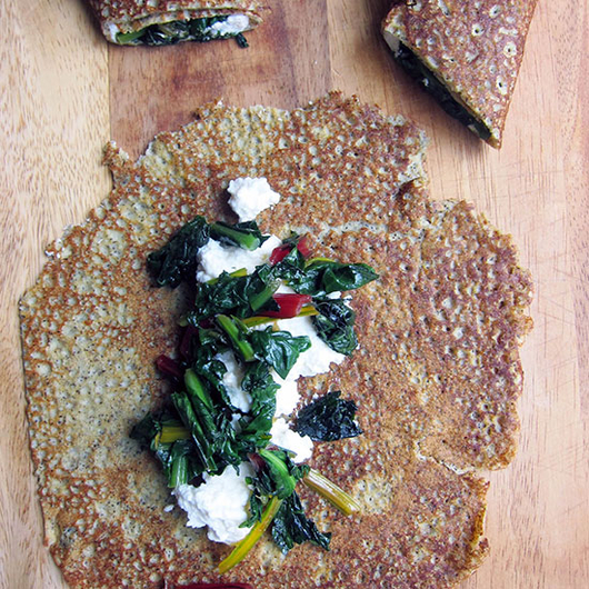 Food & Wine: Savory Buckwheat Crêpes with Pinot Noir