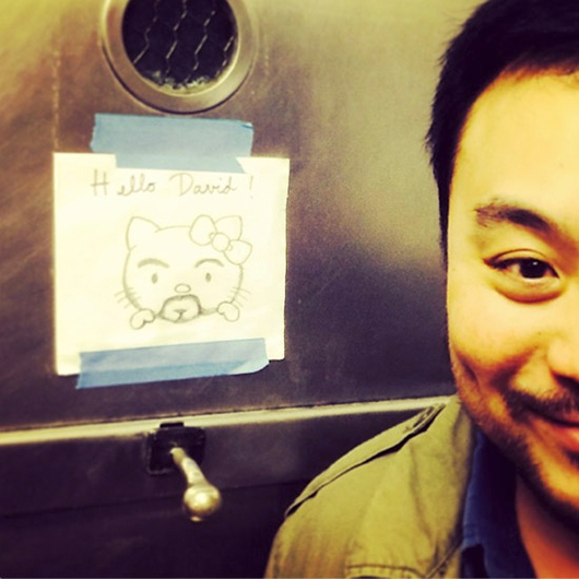 Food & Wine: If Hello Kitty Were David Chang, Here's What He Would Look Like