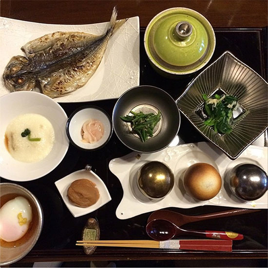 Food & Wine: Fish: Part of This Complete Japanese Breakfast