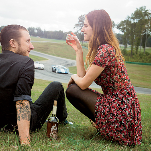 Food & Wine: Lake Bell and Scott Campbell