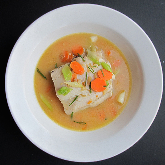Food & Wine: Black Cod with Miso Broth and German Pinot Noir