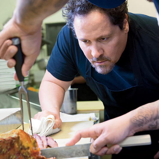 Food & Wine: 4 Cooking Lessons Jon Favreau Learned from Roy Choi