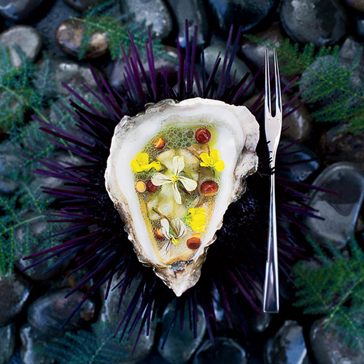 Food & Wine: Cocktail or Bar Snack? This Oyster is Both