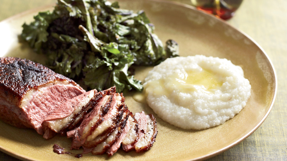 Sugar-and-Spice Skillet-Roasted Duck Breasts