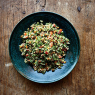 Food & Wine: Tabbouleh with Pine Nuts and Almonds