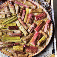 Food & Wine: Rhubarb Tart