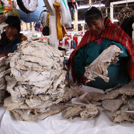 Food & Wine: 17 of the Strangest Things You Can Buy at San Pedro Market in Peru