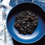Food & Wine: Black Risotto