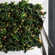 Food & Wine: Catalan-Style Spinach