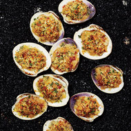 Food & Wine: Baked Clams with Bacon and Garlic