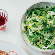 Food & Wine: Fennel and Arugula Salad with Meyer Lemon Vinaigrette