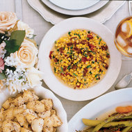Food & Wine: Roasted Corn and Pepper Maque Choux