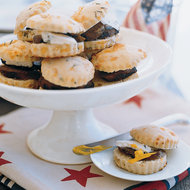 Food & Wine: Rosemary Biscuits with Sausage and Cheese