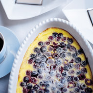 Food & Wine: Summer Berry Clafoutis