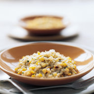 Food & Wine: Pan-Roasted Corn Risotto