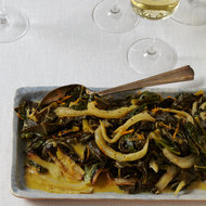 Food & Wine: Collard Greens with Fennel and Orange Butter