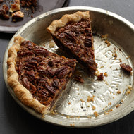 Food & Wine: Chocolate Pecan Pie with Bourbon