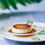 Food & Wine: Coconut Flans with Rum