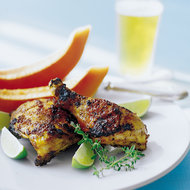 Food & Wine: Grilled Chicken Martinique Style