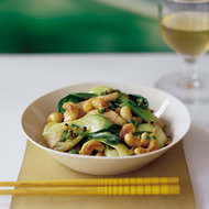 Food & Wine: Cashew Chicken with Bok Choy