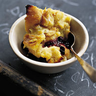 Food & Wine: Kemptville Blueberry Bread Pudding