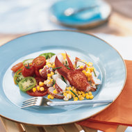 Food & Wine: Lobster Salad with Potatoes, Corn and Tomatoes