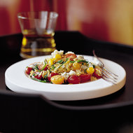 Food & Wine: Orzo with Tomatoes, Basil and Gorgonzola