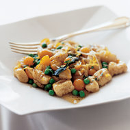 Food & Wine: Gnocchi with Sweet Peas, Tomatoes and Sage Brown Butter