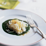 Food & Wine: Sweet Onions with Curry and Parsley Coulis