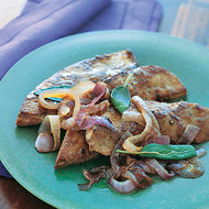 Food & Wine: Sautéed Calf's Liver with Onions, Lemon and Sage