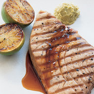 Food & Wine: Grilled Tuna Steaks with Citrus-Ginger Sauce