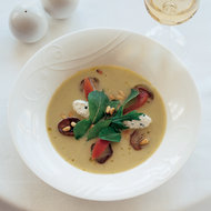 Food & Wine: Pickled Eggplant and Summer Lettuce Soup