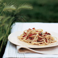 Food & Wine: Lazy Linguine with Cherry Tomatoes and Herbs