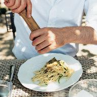 Food & Wine: Linguine Fine with Zucchini, Basil and Dill