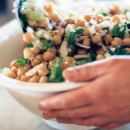 Food & Wine: Warm Chickpea, Fennel and Parsley Salad