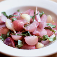 Food & Wine: Butter-Braised Radishes with Sorrel