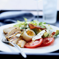 Food & Wine: Cobb Salad with Pancetta Chips