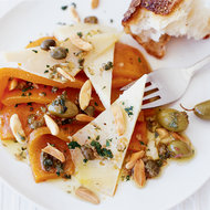 Food & Wine: Sweet Pepper Salad with Manchego and Almonds