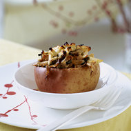 Food & Wine: Baked Apples With Oyster Mushrooms